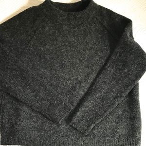charcoal sweater Willow & Clay Anthropologie
